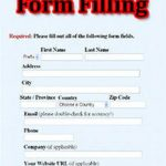 Form Filling Project